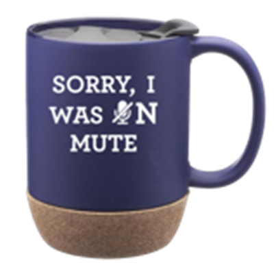 Sorry, I was on Mute Coffee Mug w/lid